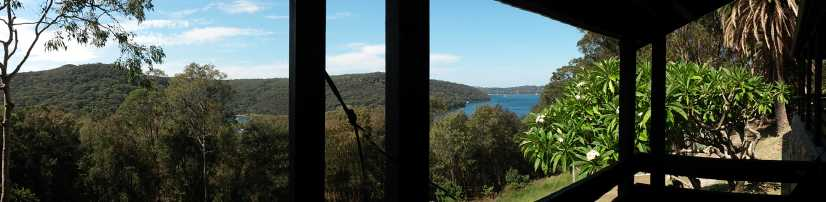 Panorama PittwaterYHA1
