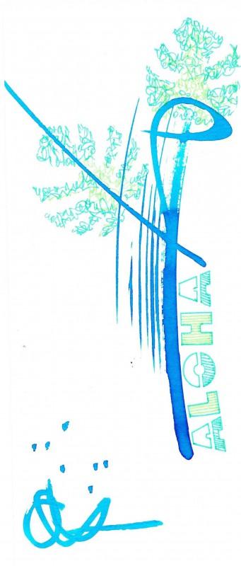 Bookmark Aloha-2