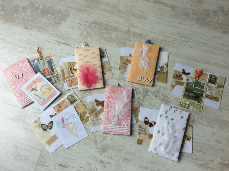 Folders sewn-many