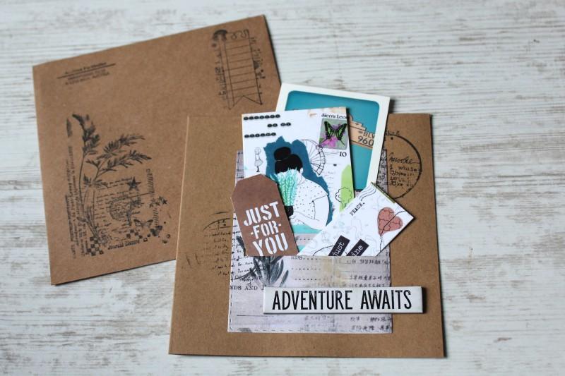Karten Kraft Einschubfach - Adventure awaits