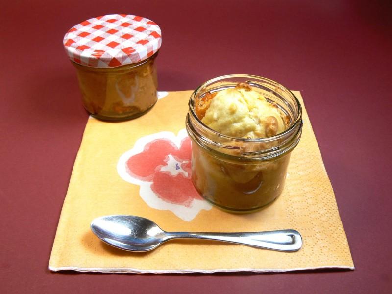 Marillenkuchen im Glas (25)