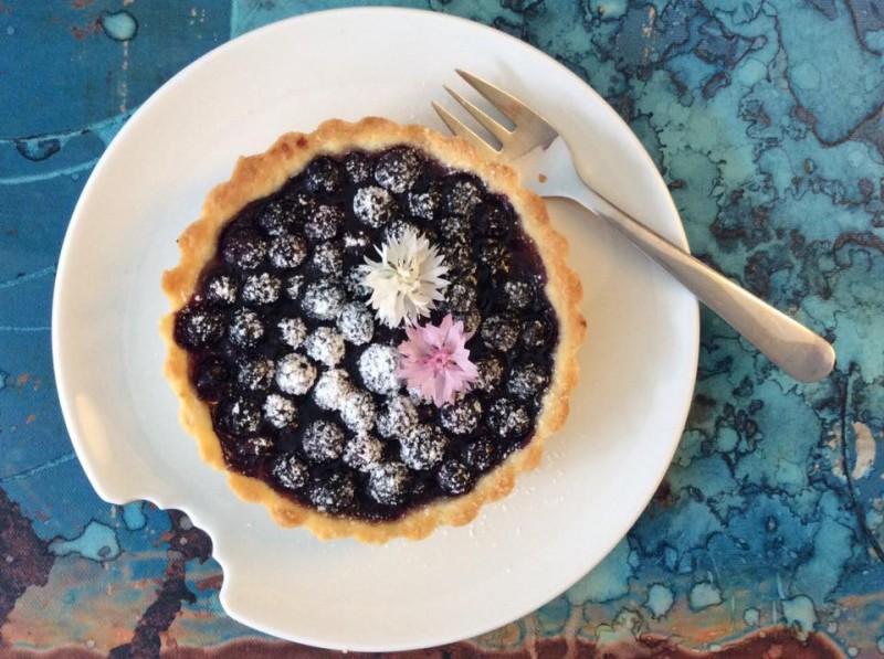 Obstkuchen Heidelbeerkuchen 2019