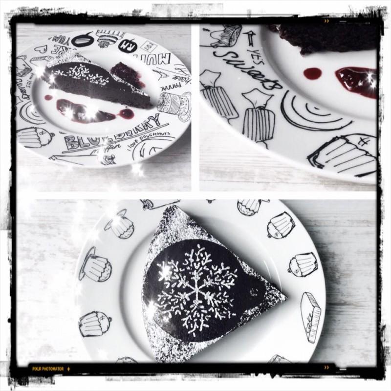 Schokoladenkuchen ohne Milch und ohne Mehl