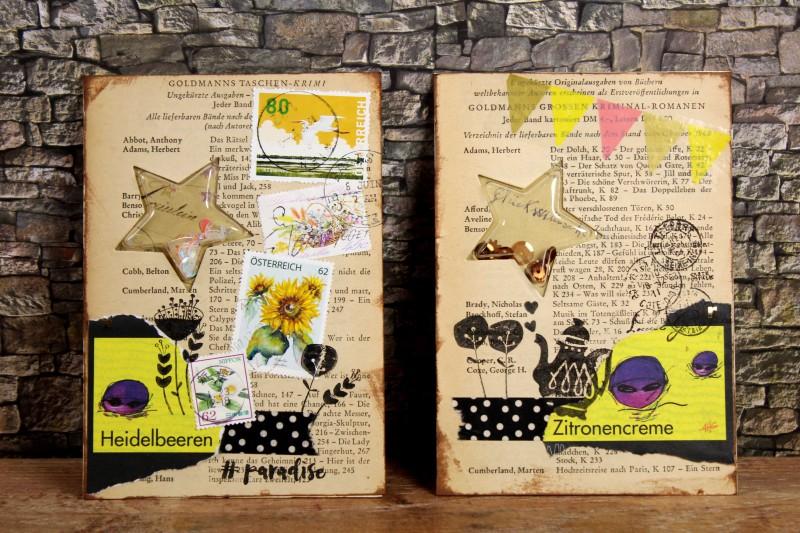 Shaker cards - Vintage - Stars (1)