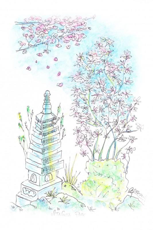 Sketch Setagaya Park-1