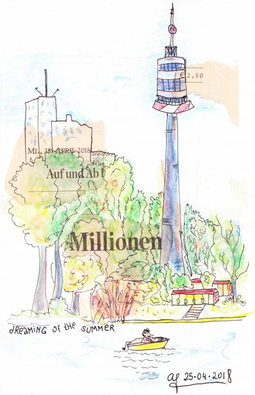 Sketchbook Revival 2018-25042018-Donauturm