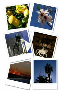 Spanien Polaroids Collage1