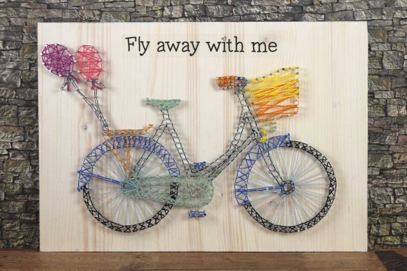 String Art - Fly away with me