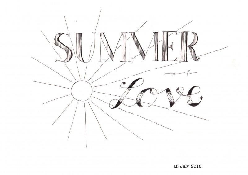 Summer of love - signed