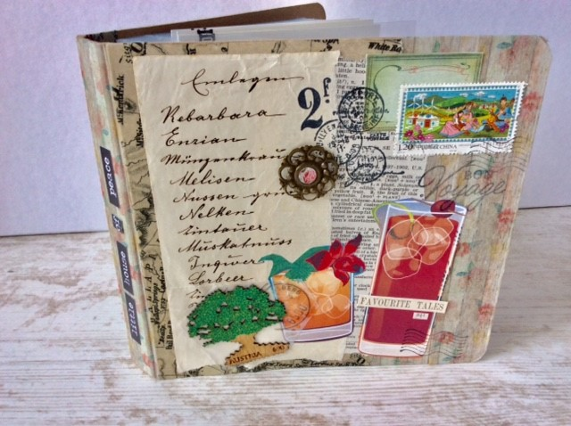 Upcycled Mappe - Cover2