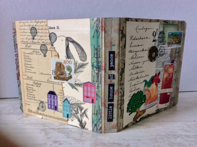 Upcycled Mappe - Spine