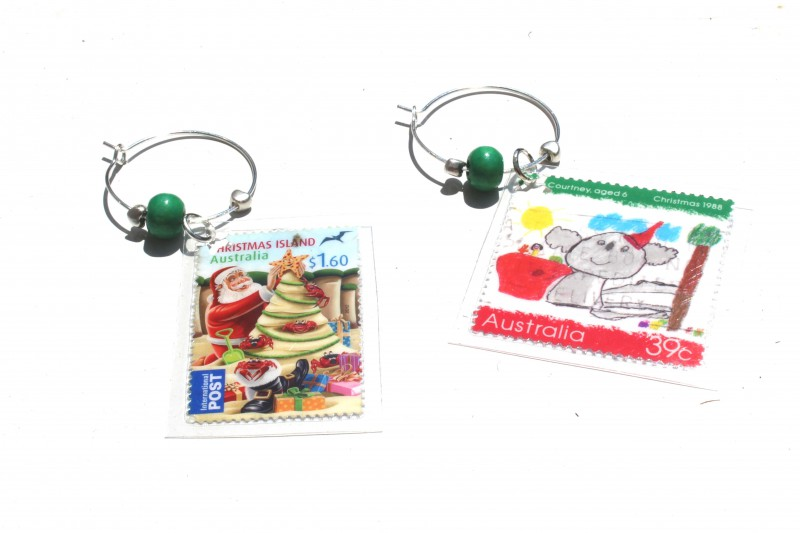 Wine glass charms - AUS Specials
