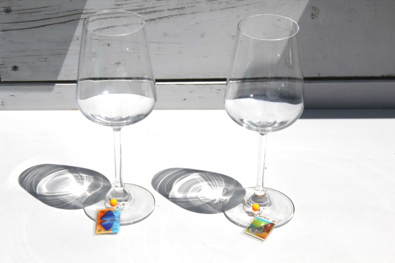 Wine glass charms - Glasses AUS Animals