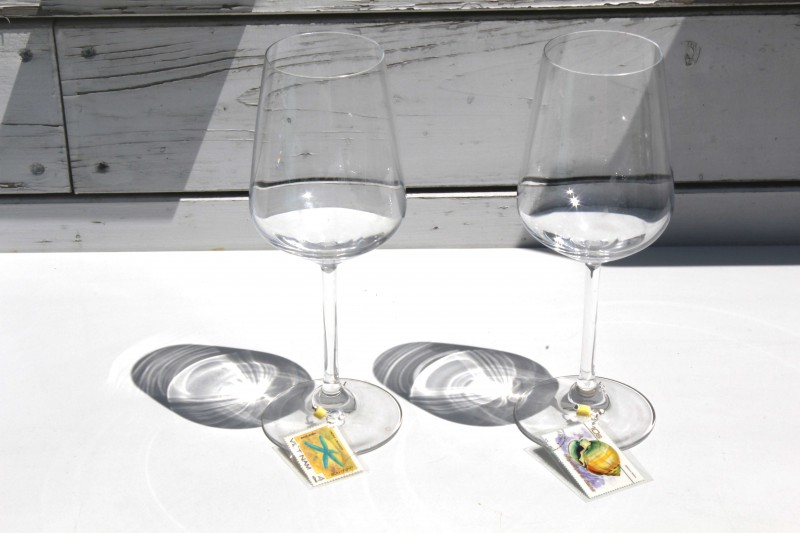 Wine glass charms - Glasses International - Meerestiere